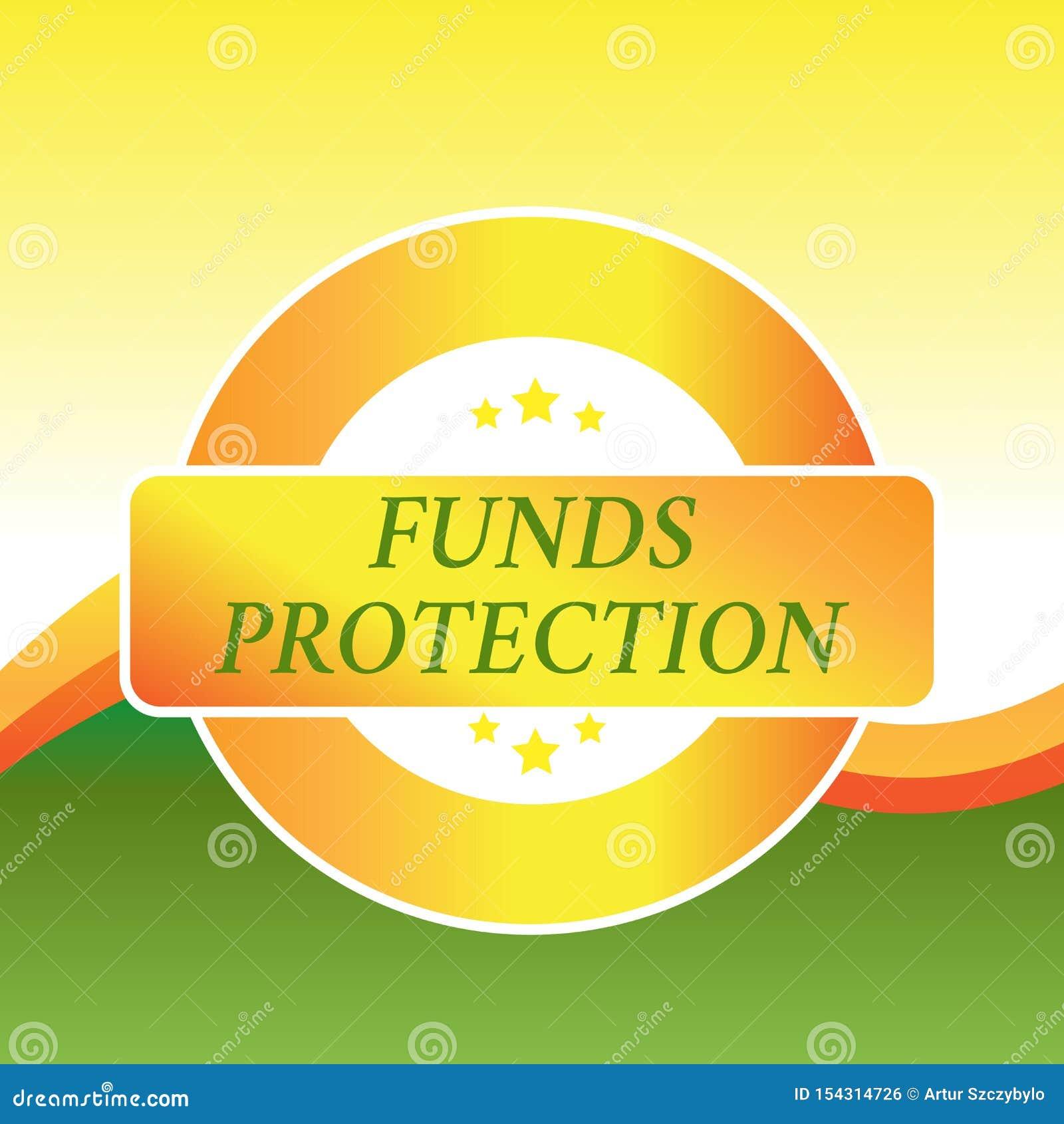 写显示资金保护的笔记 企业照片陈列许诺回归部分最初投资给投资者