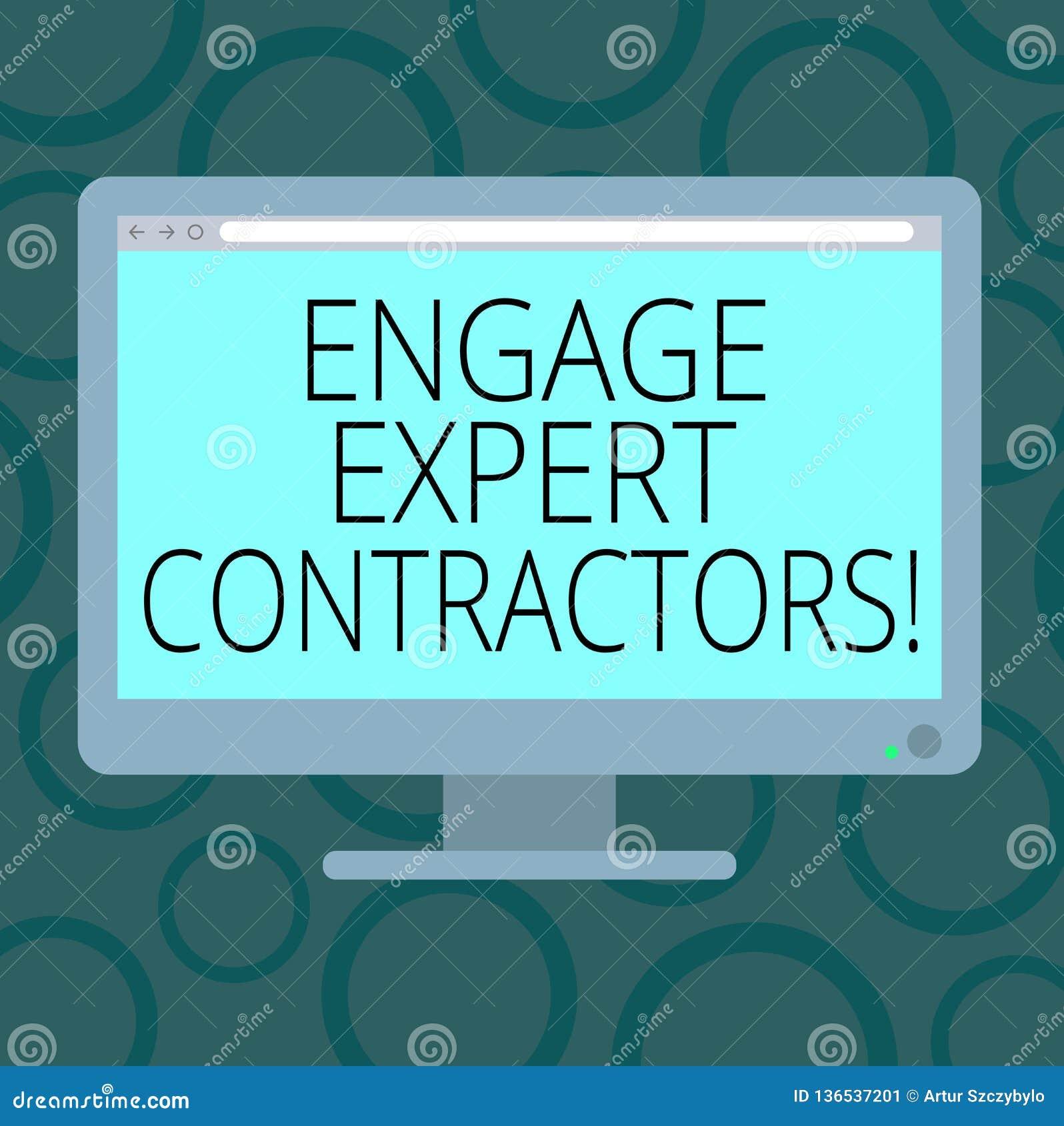 写笔记陈列允诺专家的承包商 企业照片陈列的聘用的熟练的outworkers短时间