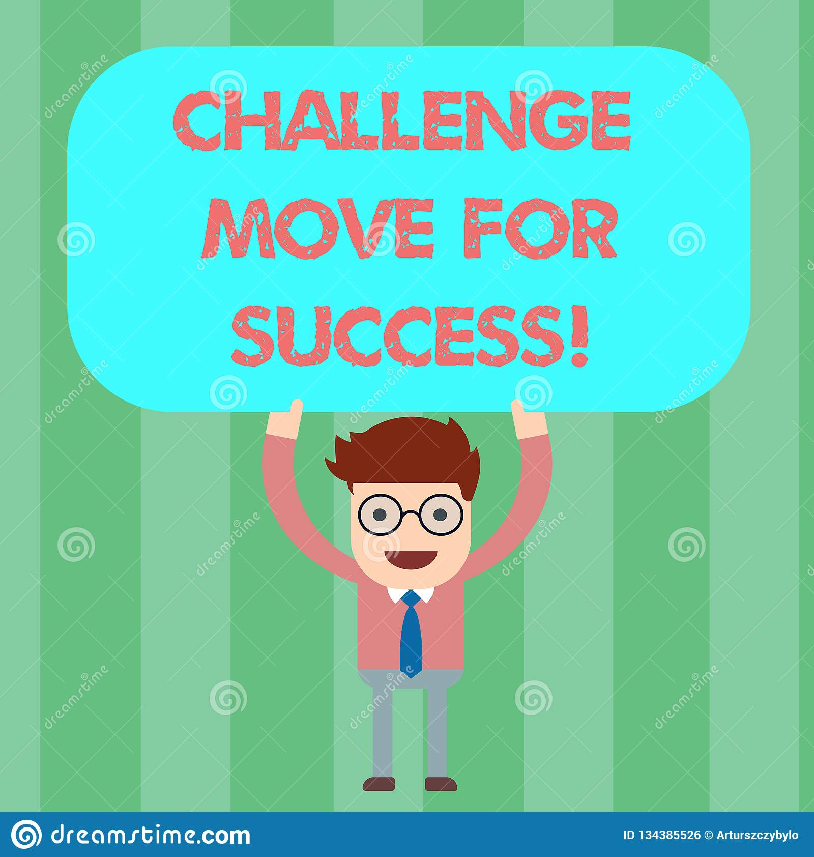 写笔记陈列挑战移动成功的 陈列专业运动战略的企业照片继人之后