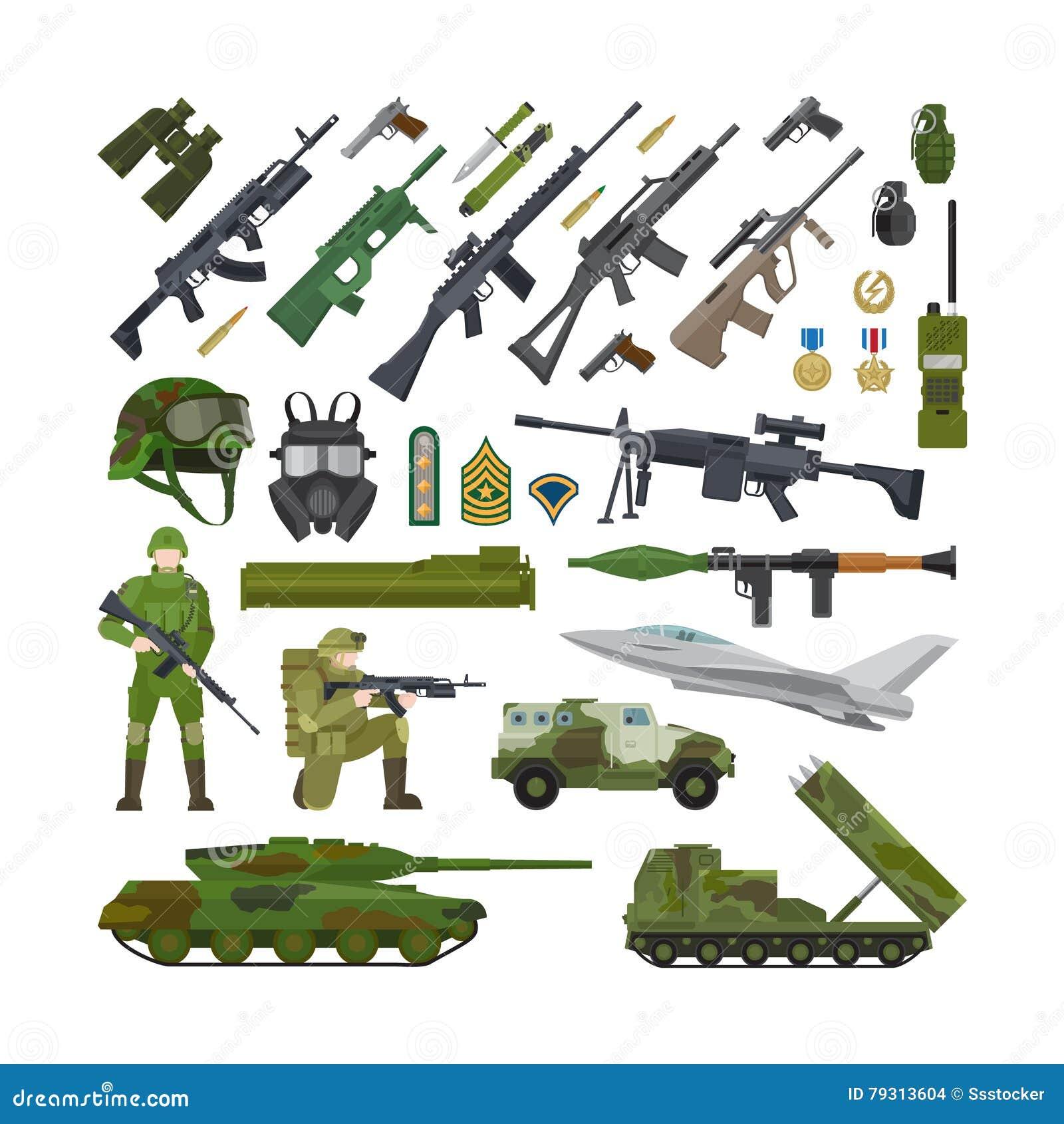 军事军队平的象