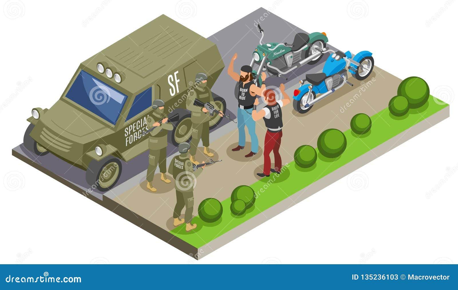 军事特种部队等量构成