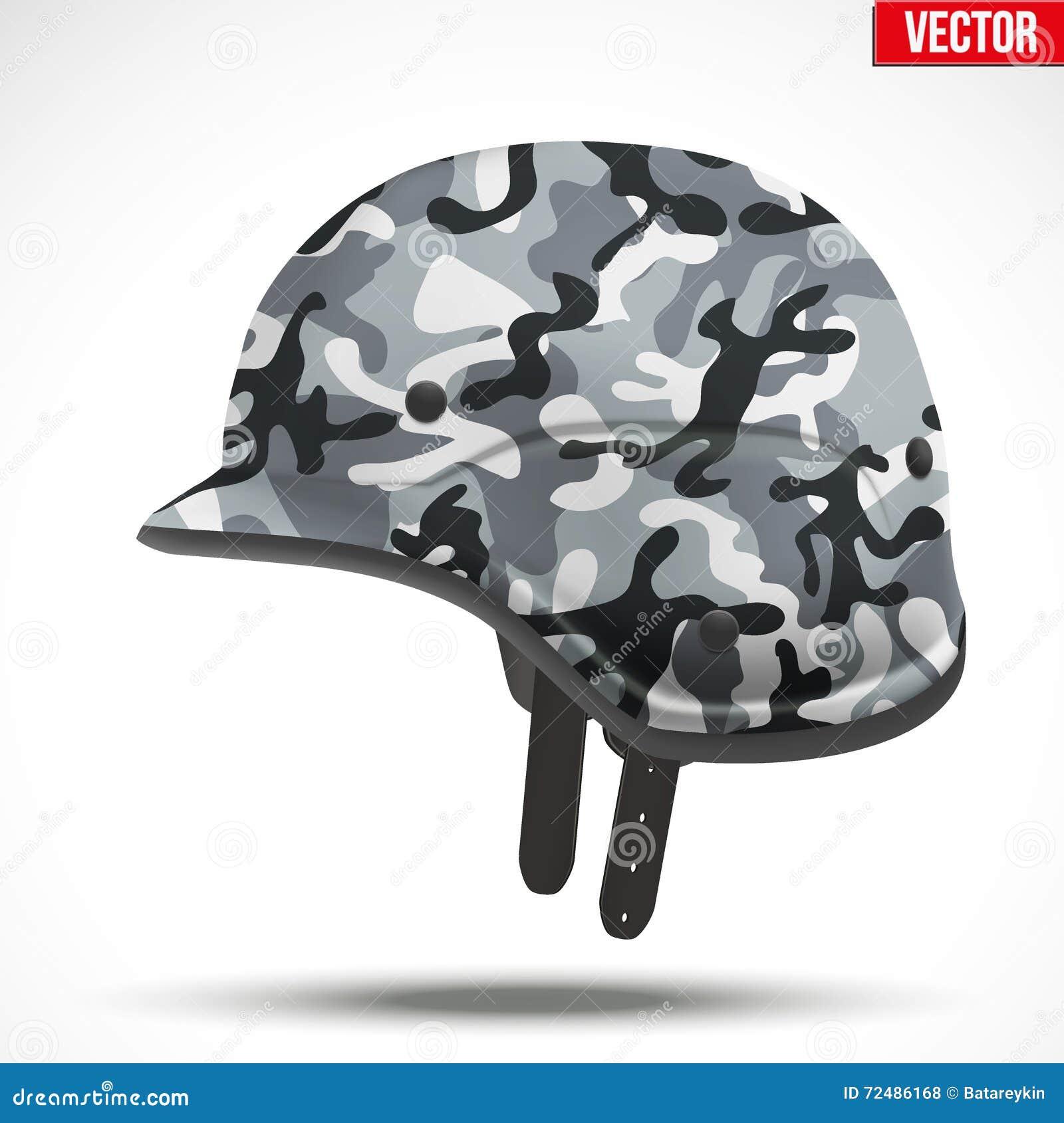 军事现代伪装盔甲 侧视图