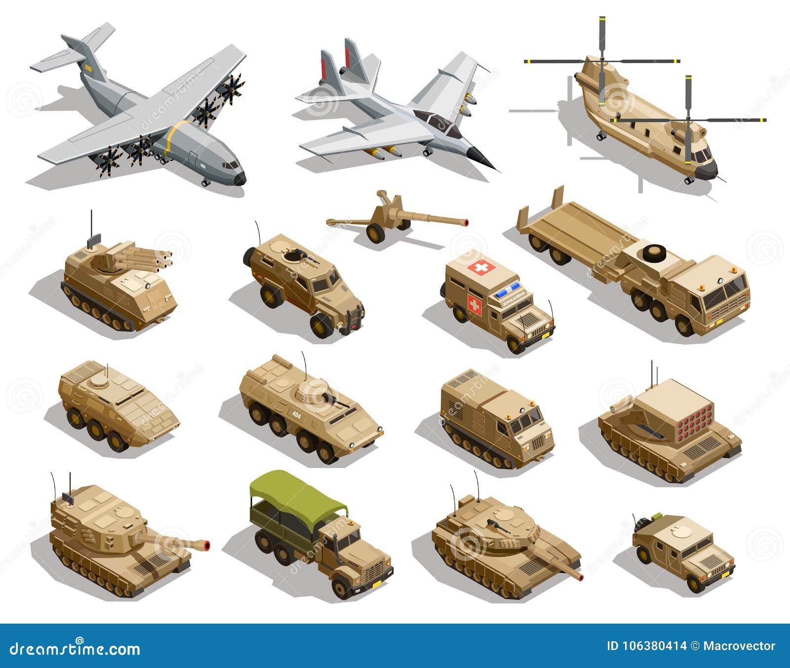 军事运输被设置的等量象