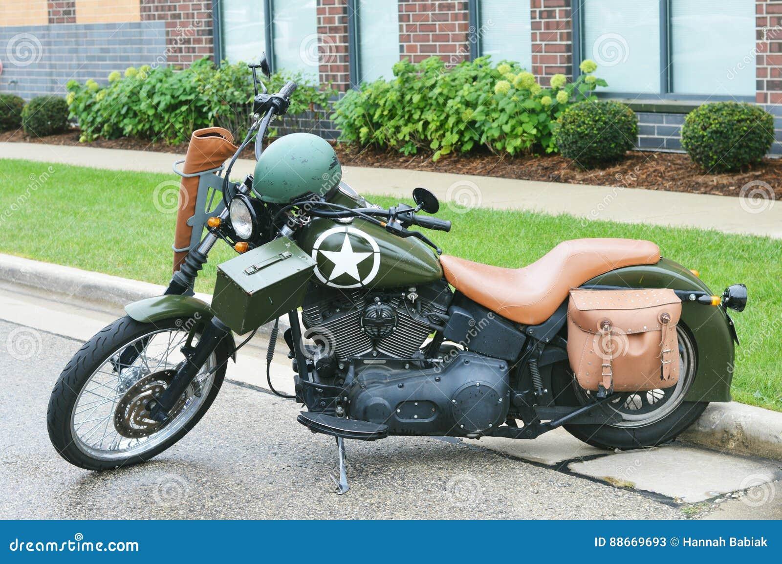 军用摩托车