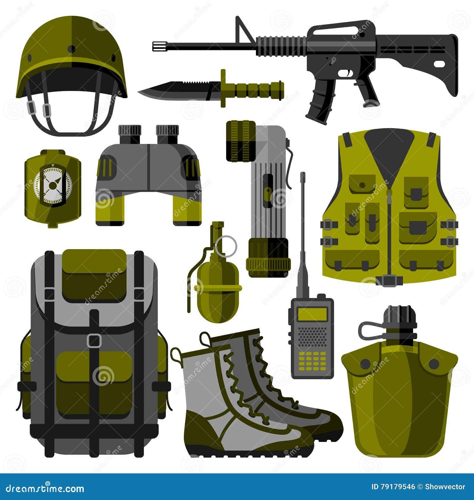 军用武器开枪标志传染媒介例证