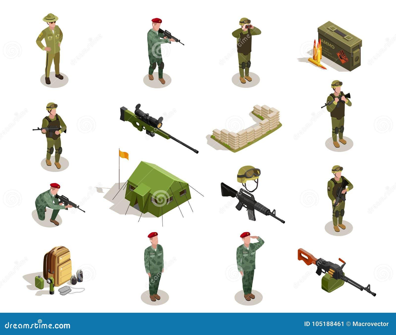军队军事等量元素集