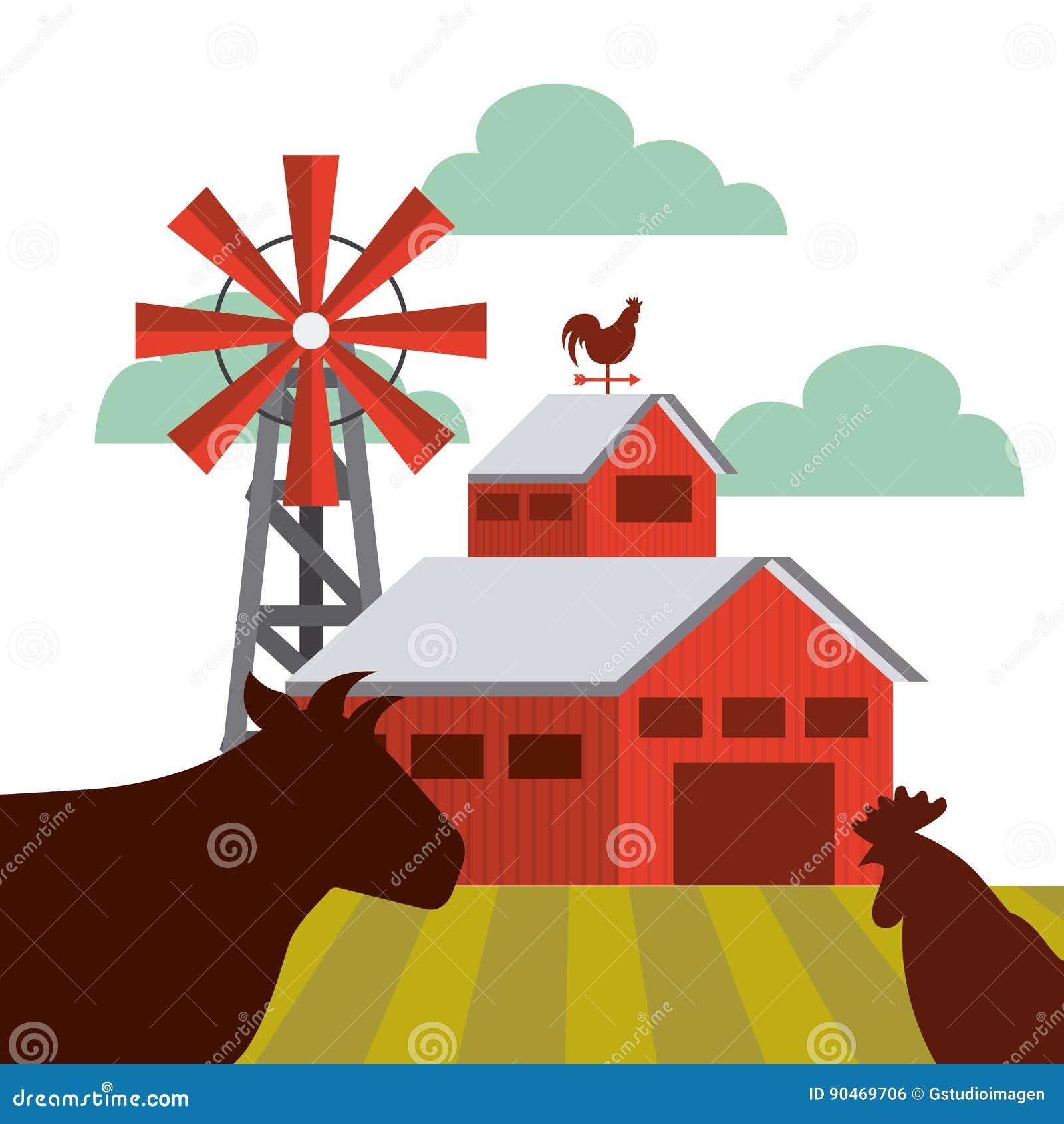 农厂谷仓设计