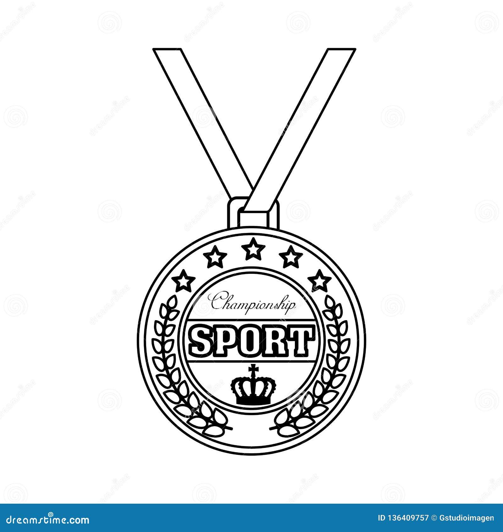 冠军体育奖牌象