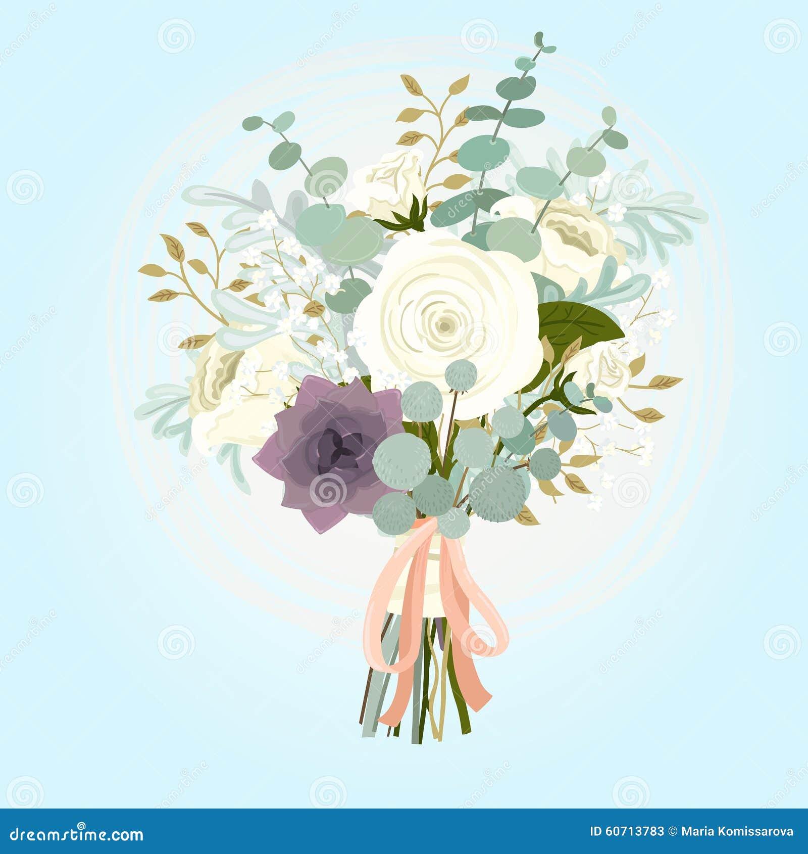 冬天新娘花束