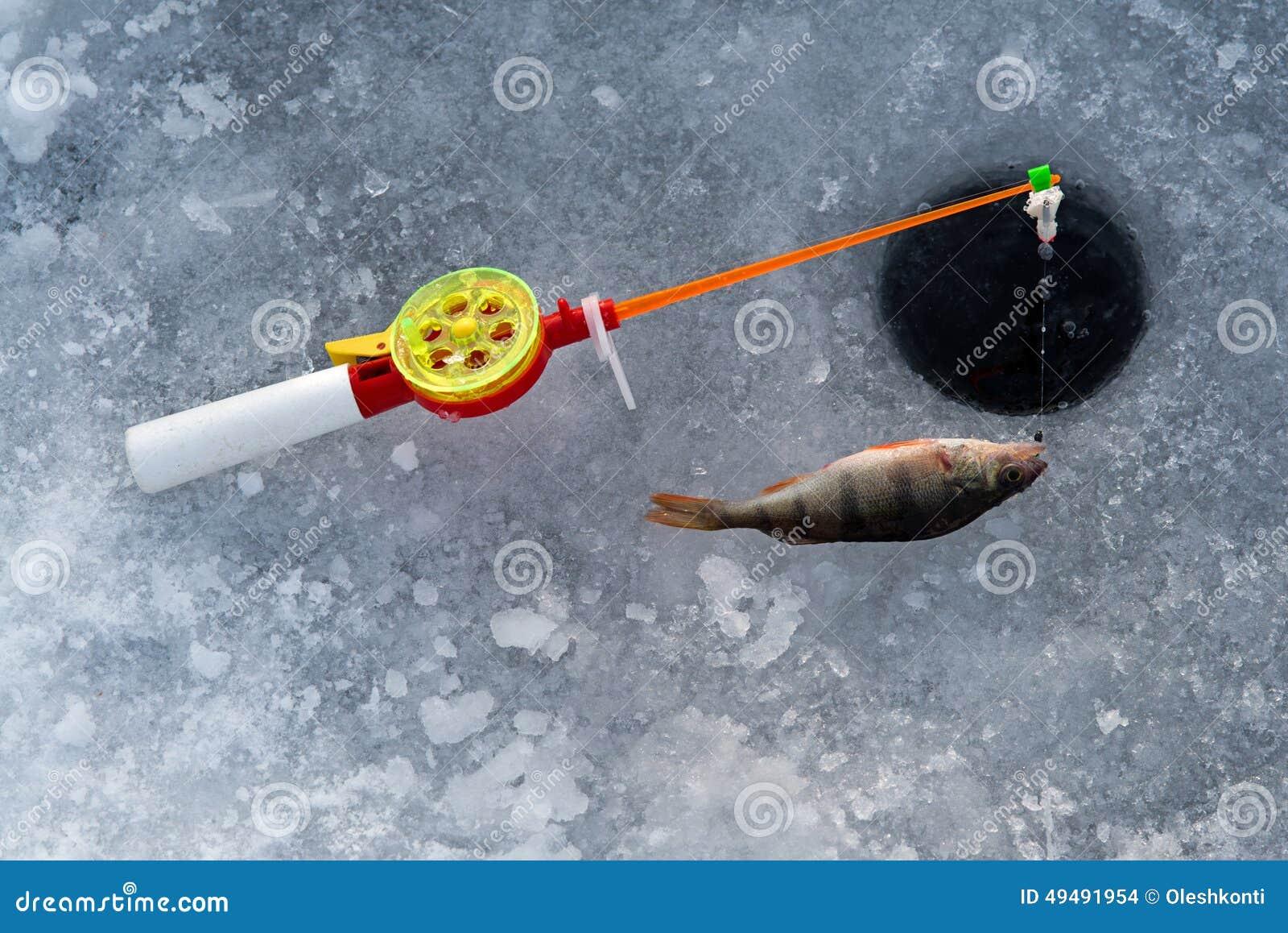 冬天渔的标尺