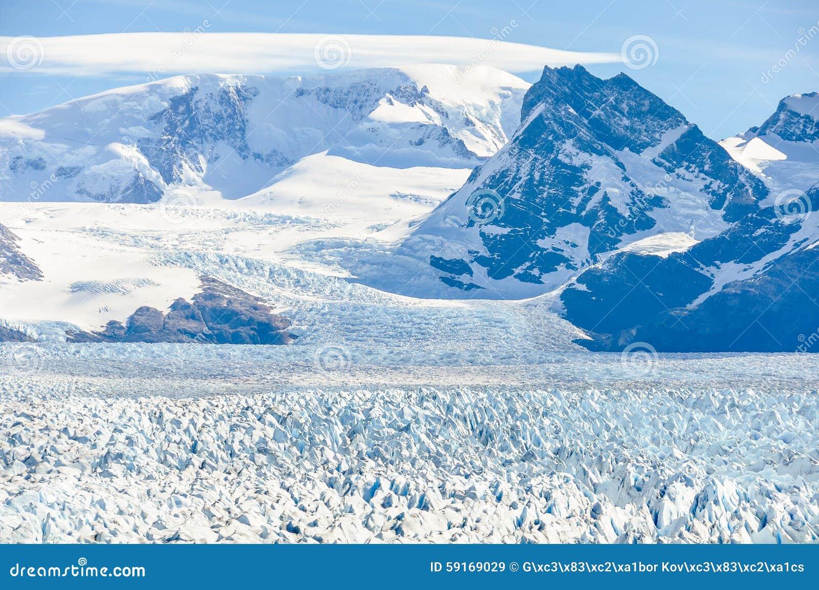 冰世界,佩里托莫雷诺冰川,阿根廷