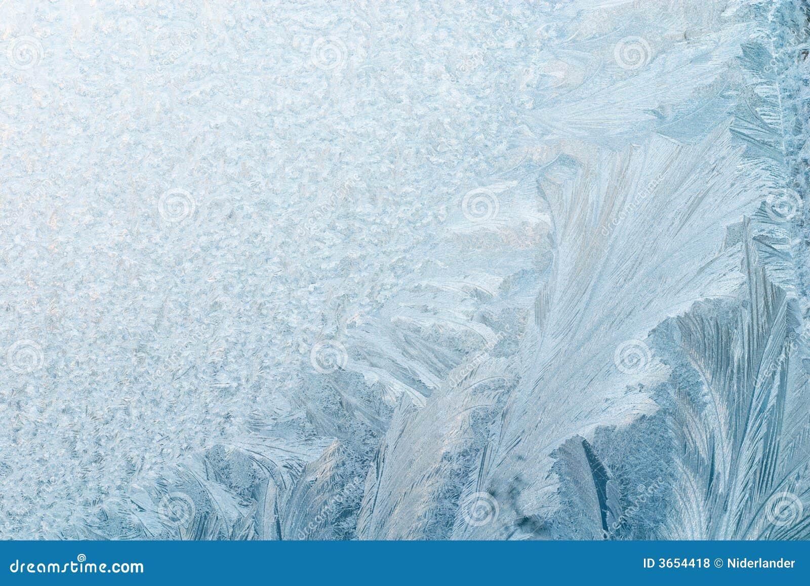 冰冷的背景