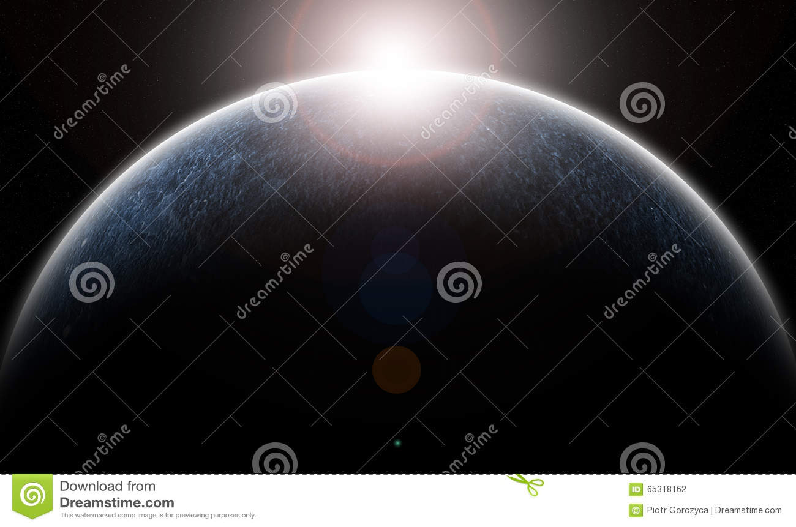 冰冷的行星
