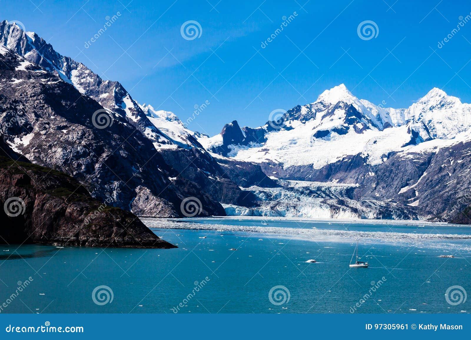 冰川国家公园在阿拉斯加