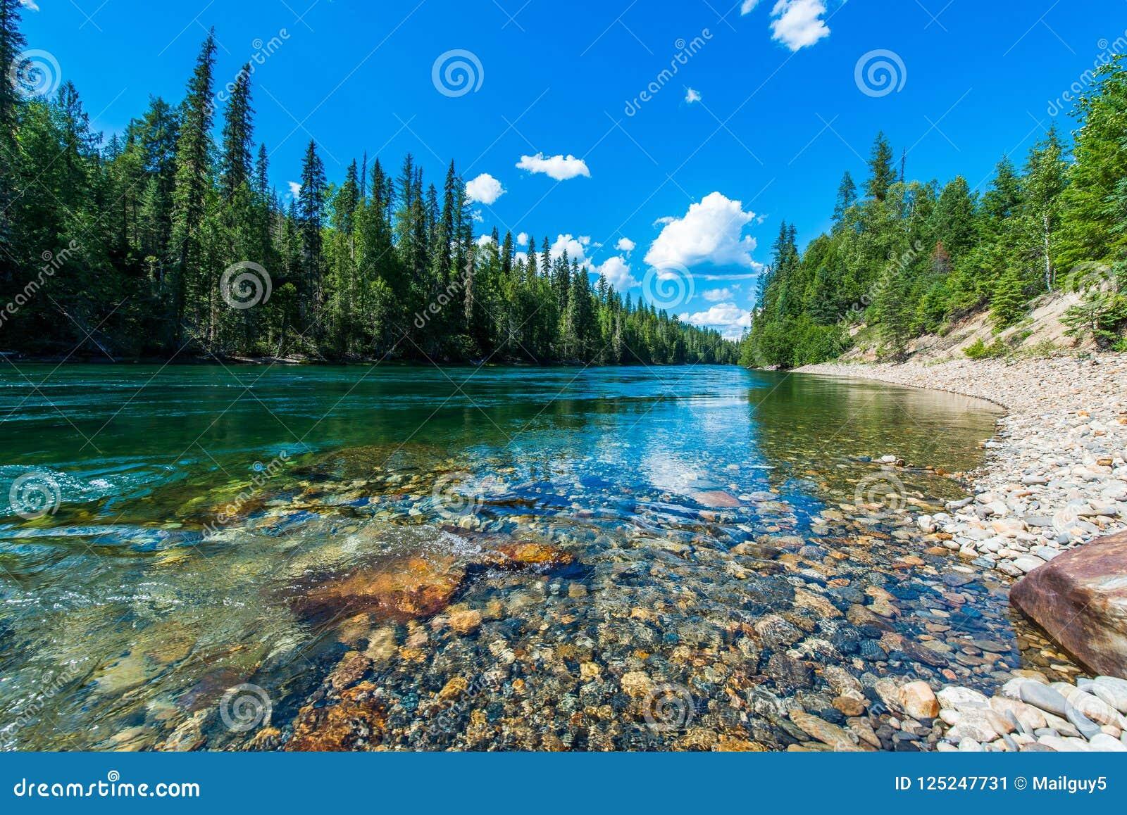 冰川国家公园风景-加拿大