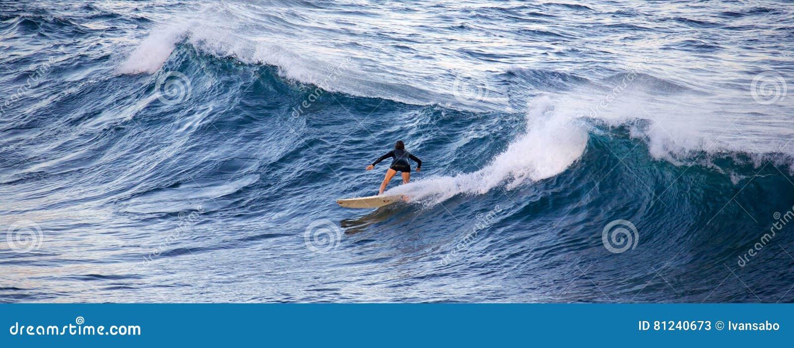 冲浪在Ho ` okipa