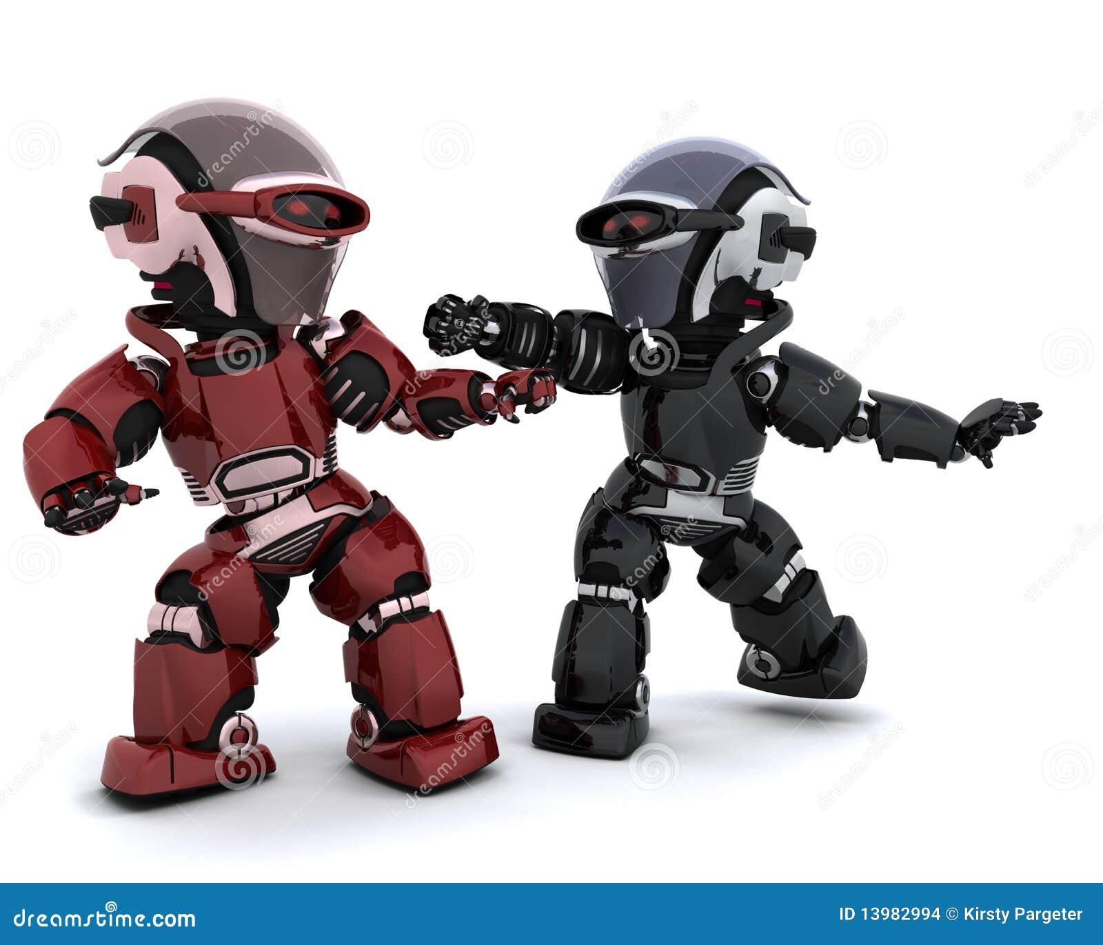 冲突机器人