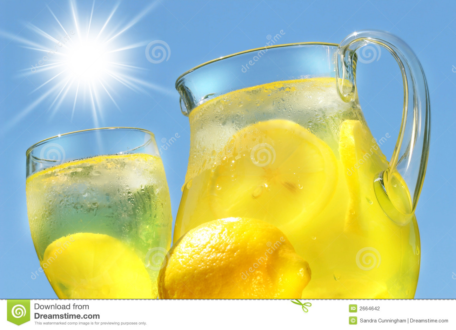 冷静柠檬水