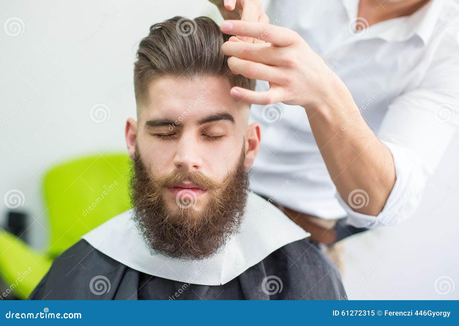 准备好的头发