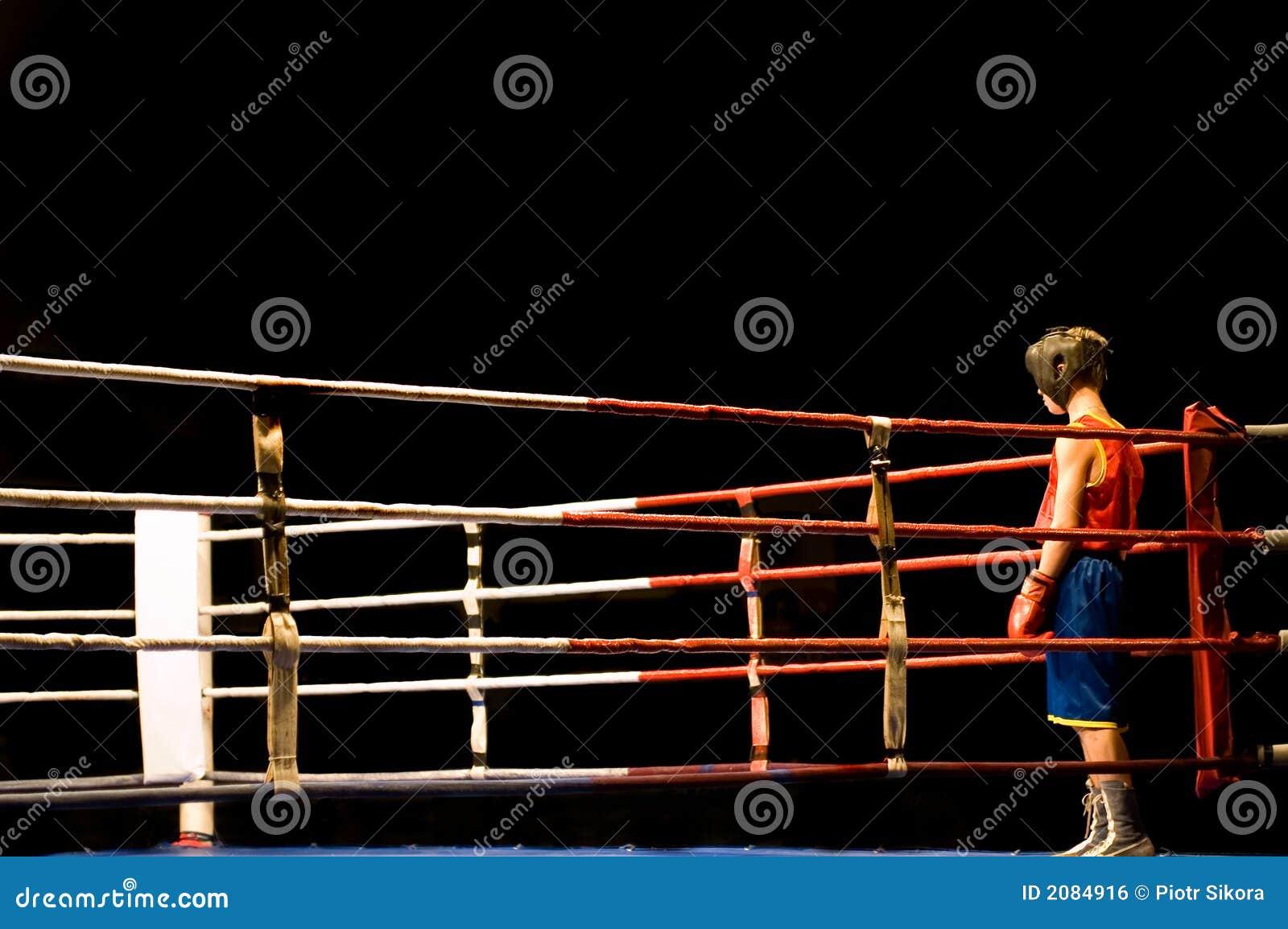 准备对拳击战斗