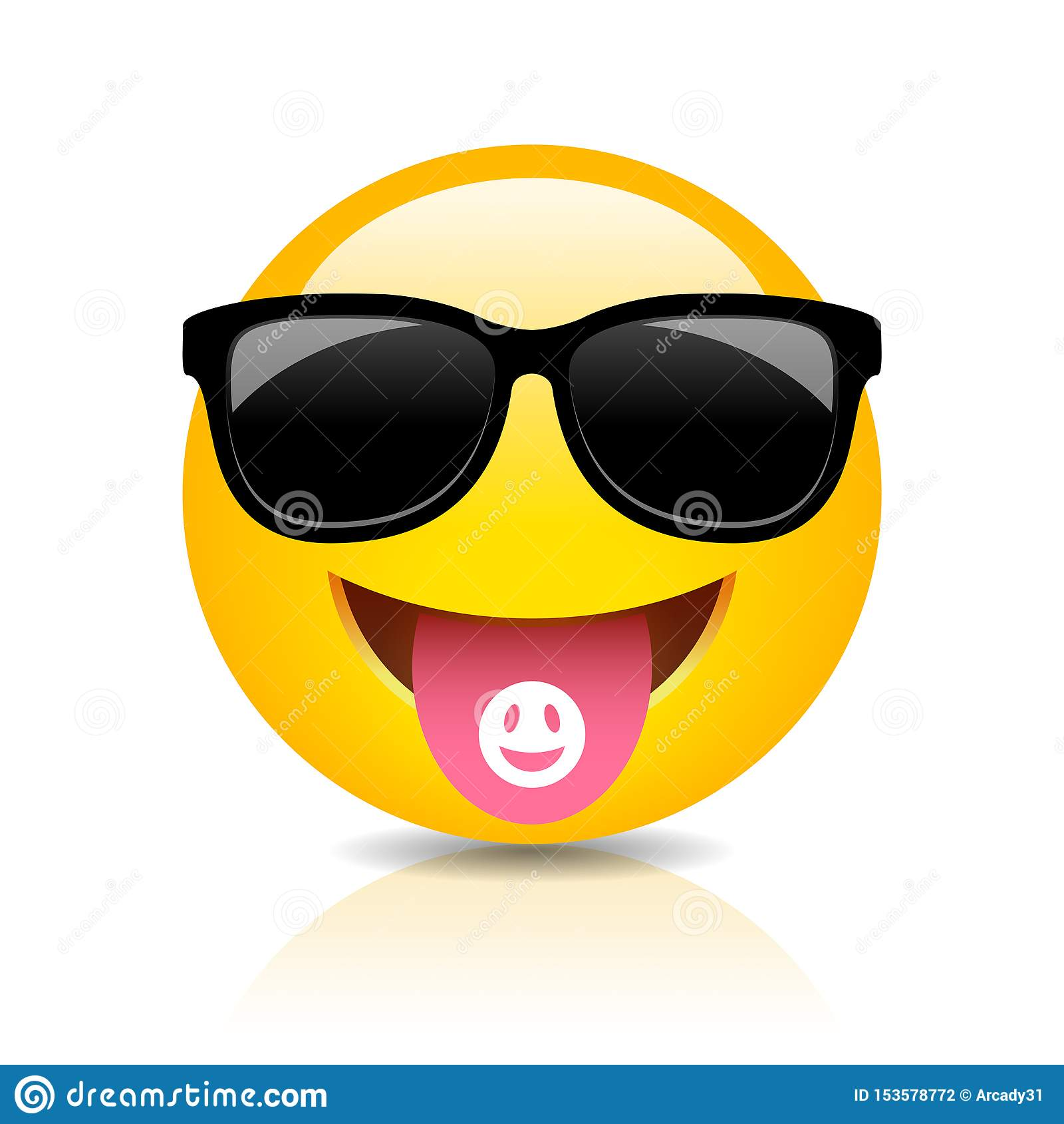 凉快的clubber emoji传染媒介动画片