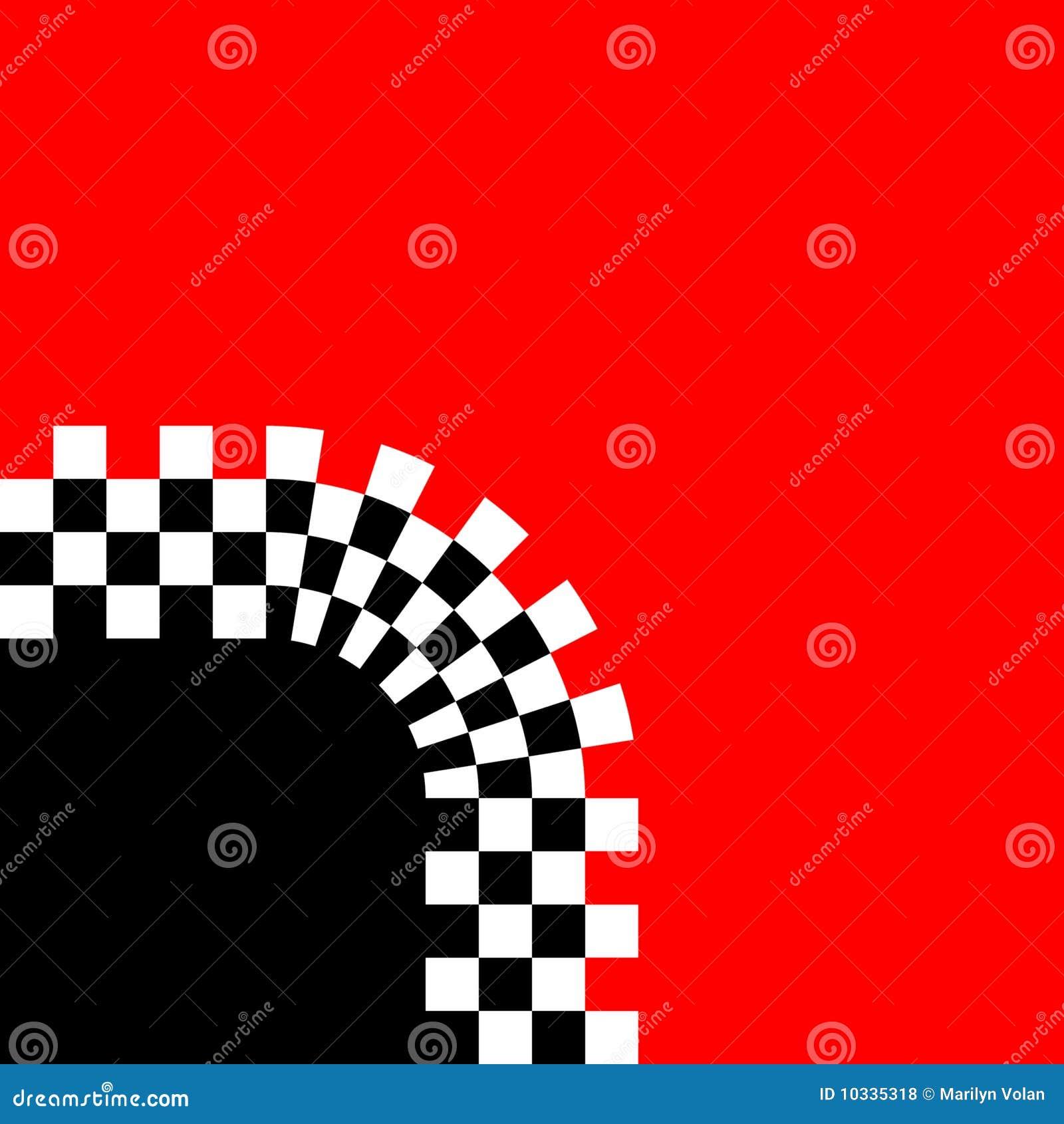 减速火箭方格的曲线