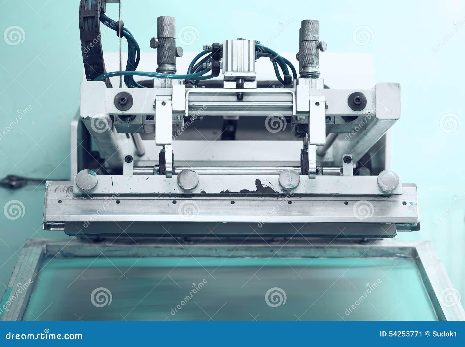 减速火箭的打印压入丝网印刷打印技术