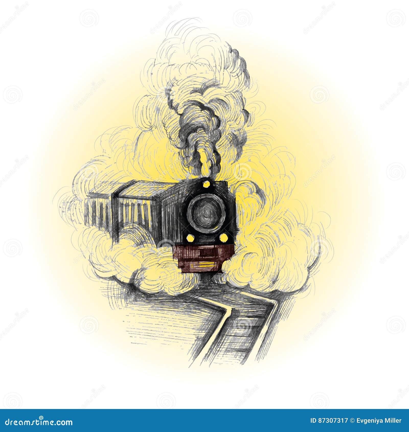 减速火箭的火车,葡萄酒标志,象征,标签模板