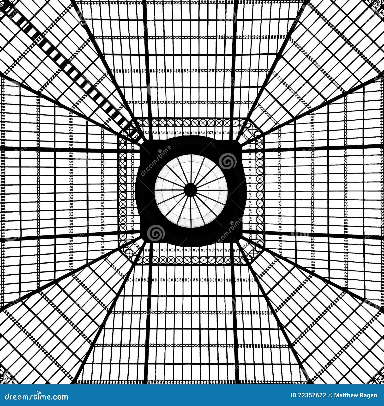 几何天窗样式