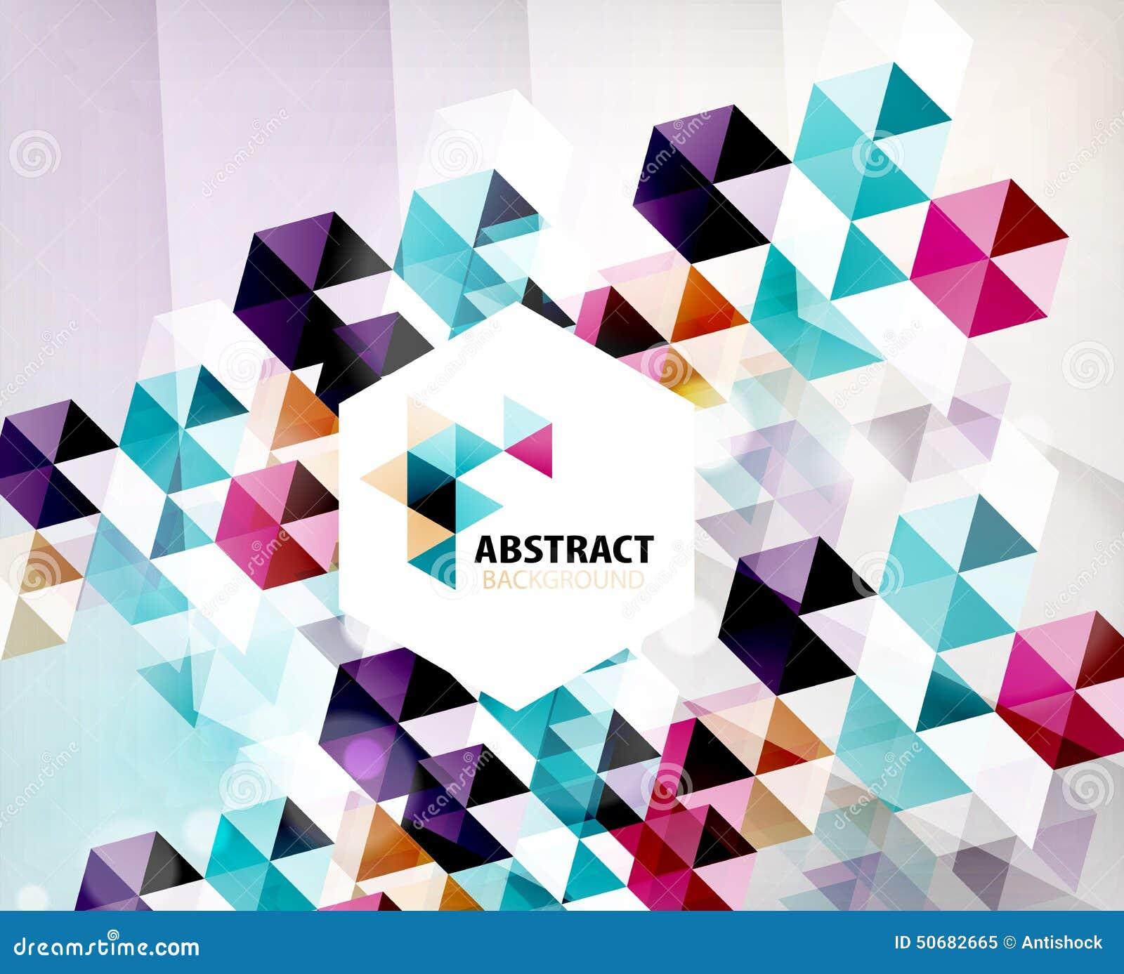 Download 几何抽象多角形背景 向量例证. 插画 包括有 发光, 纸张, 背包, 钞票, 想法, 马赛克, 未来派, 几何 - 50682665