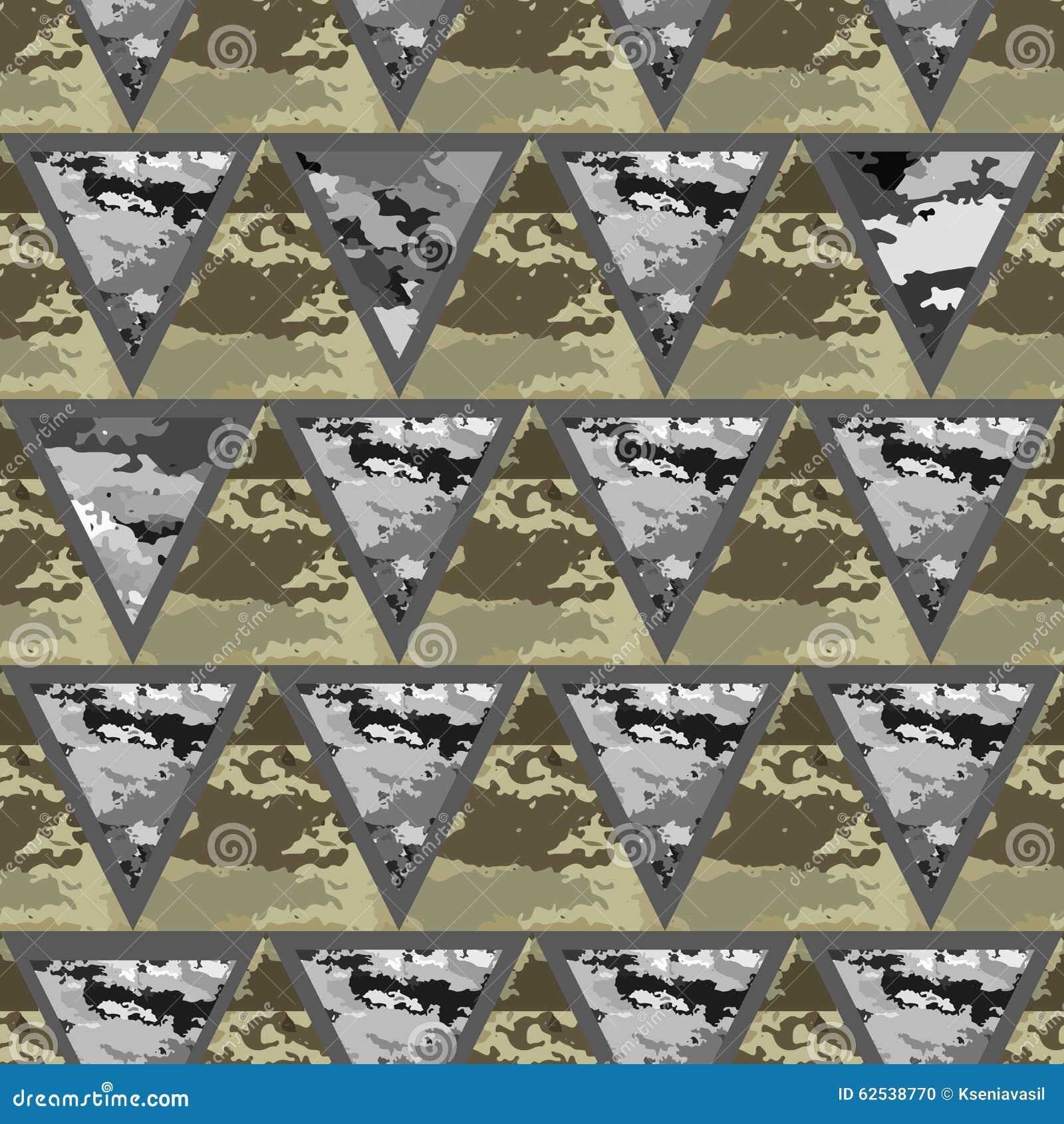 几何抽象无缝的camo