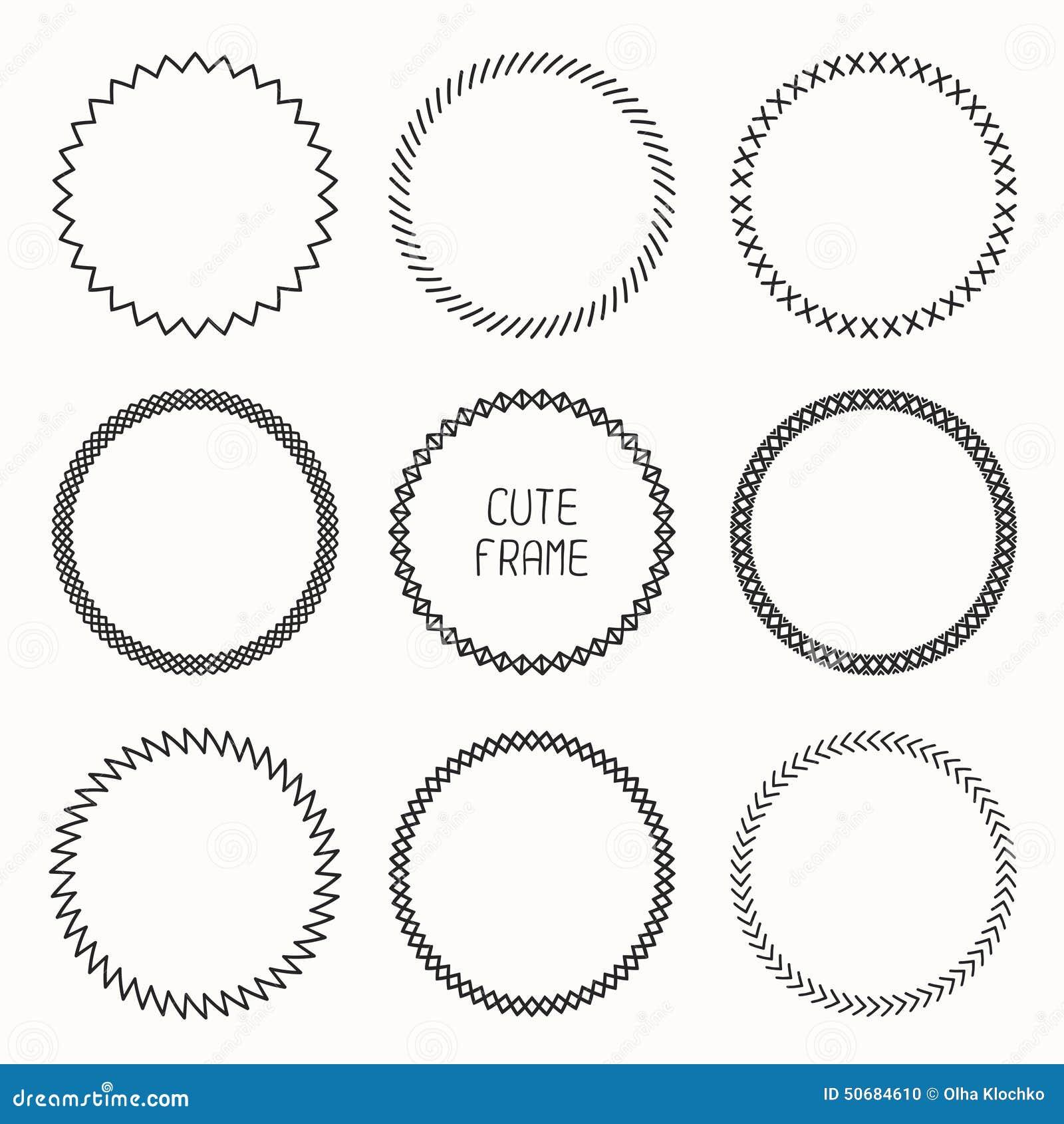 Download 几何样式手拉的单色框架 向量例证. 插画 包括有 绘画, 几何, 装饰, 看板卡, 现有量, 例证, 要素 - 50684610