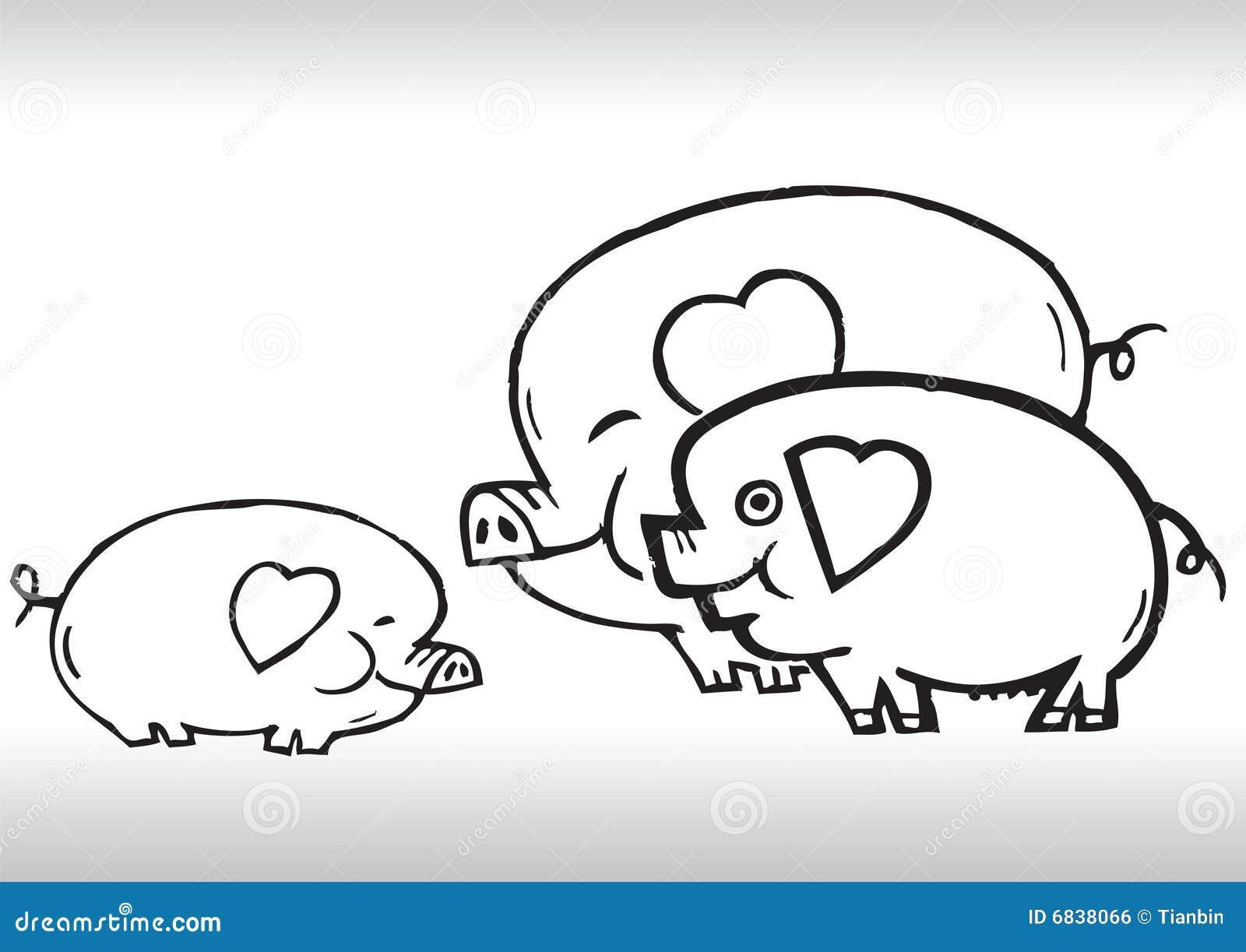 凹道系列现有量爱猪