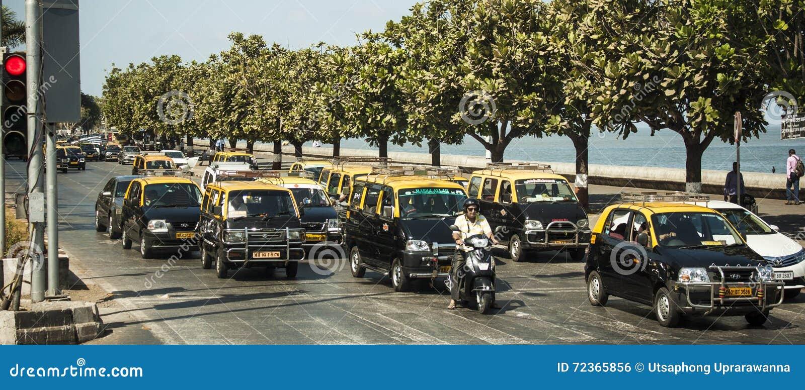 出租汽车,孟买,印度