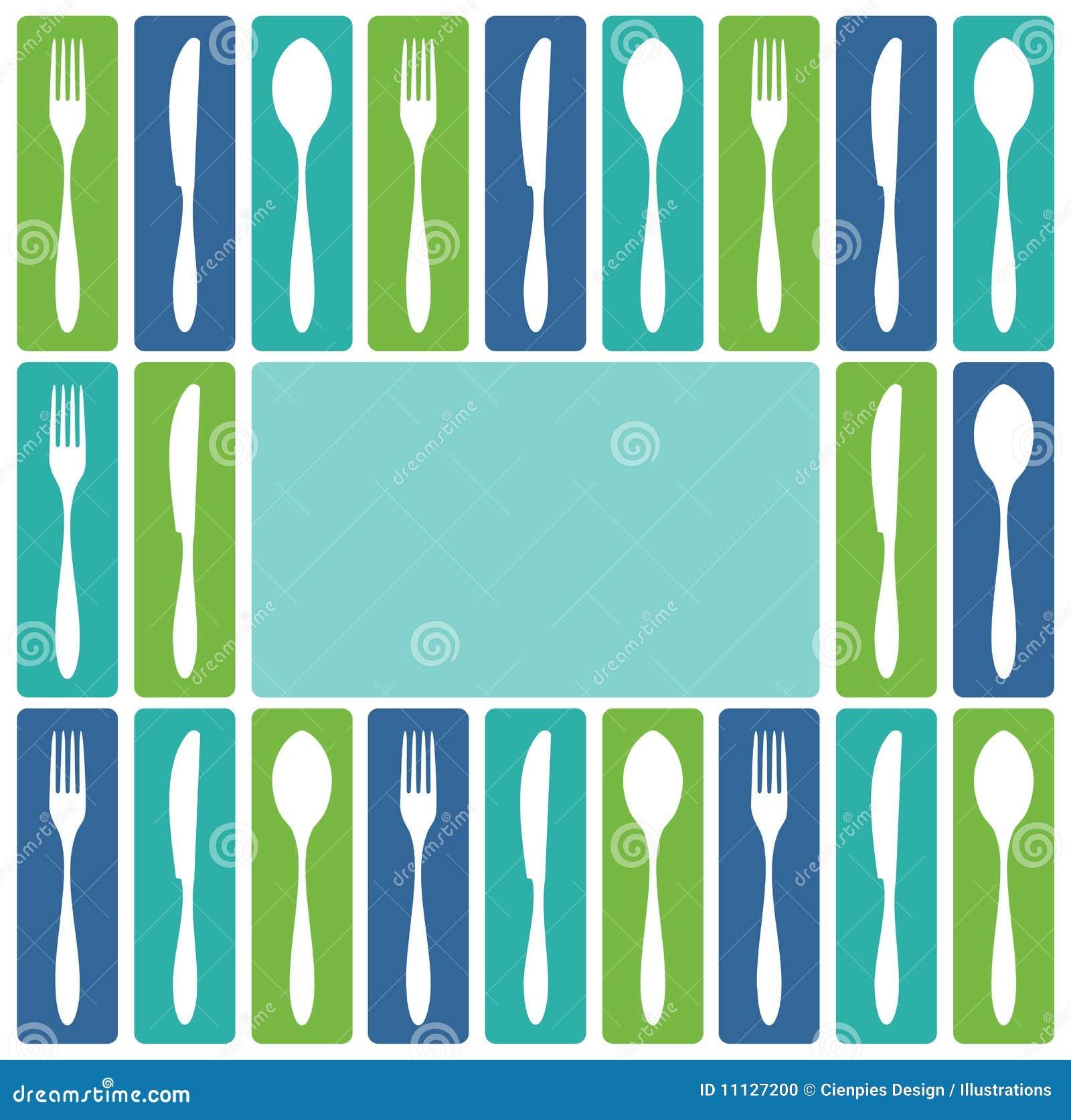 刀叉餐具框架