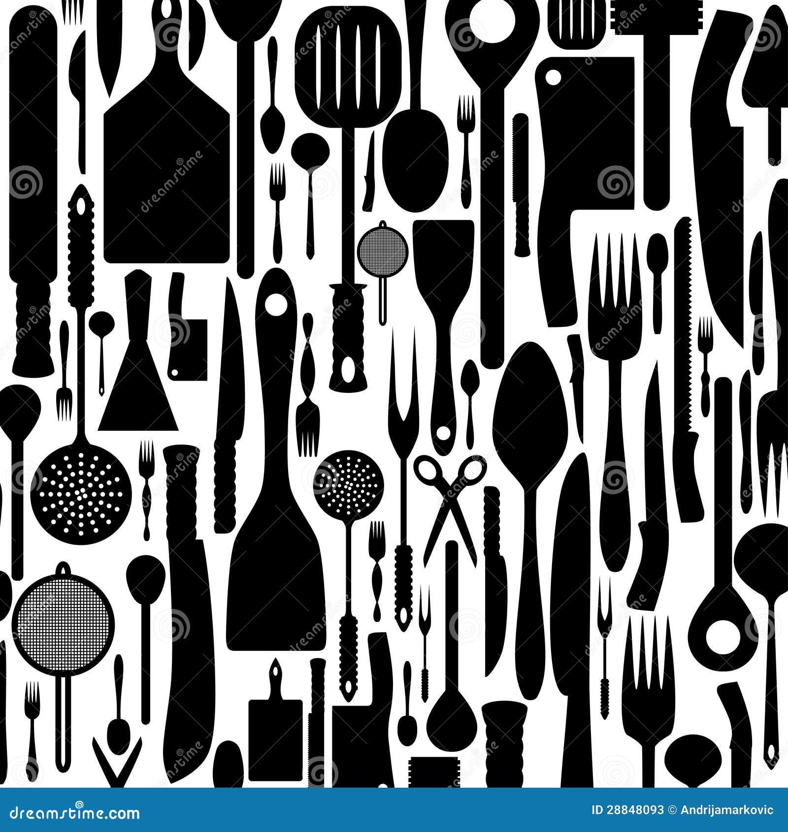 刀叉餐具背景