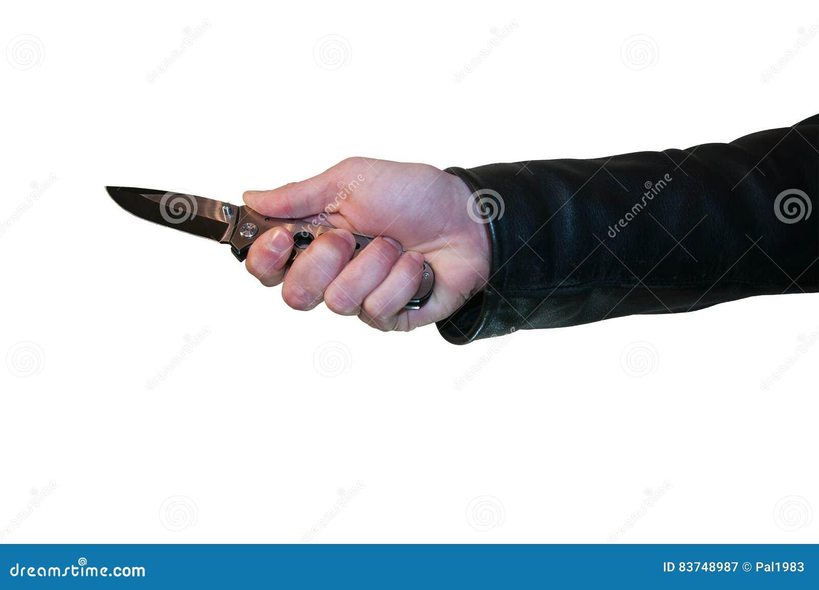 刀子在手中
