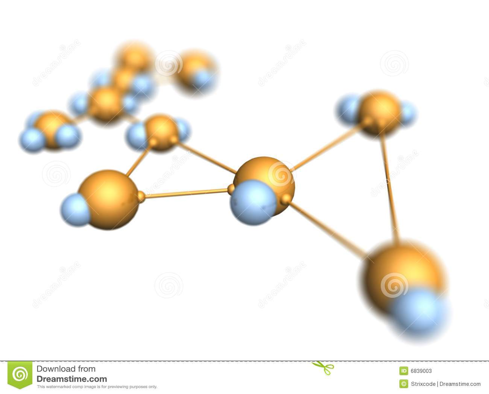 分子的背景