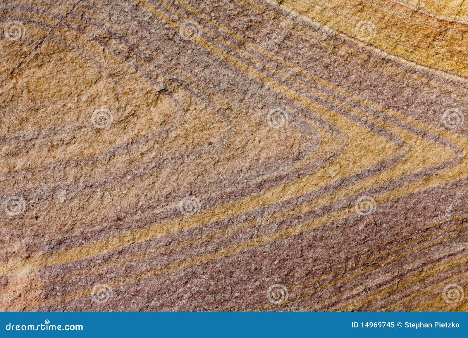 分层堆积砂岩