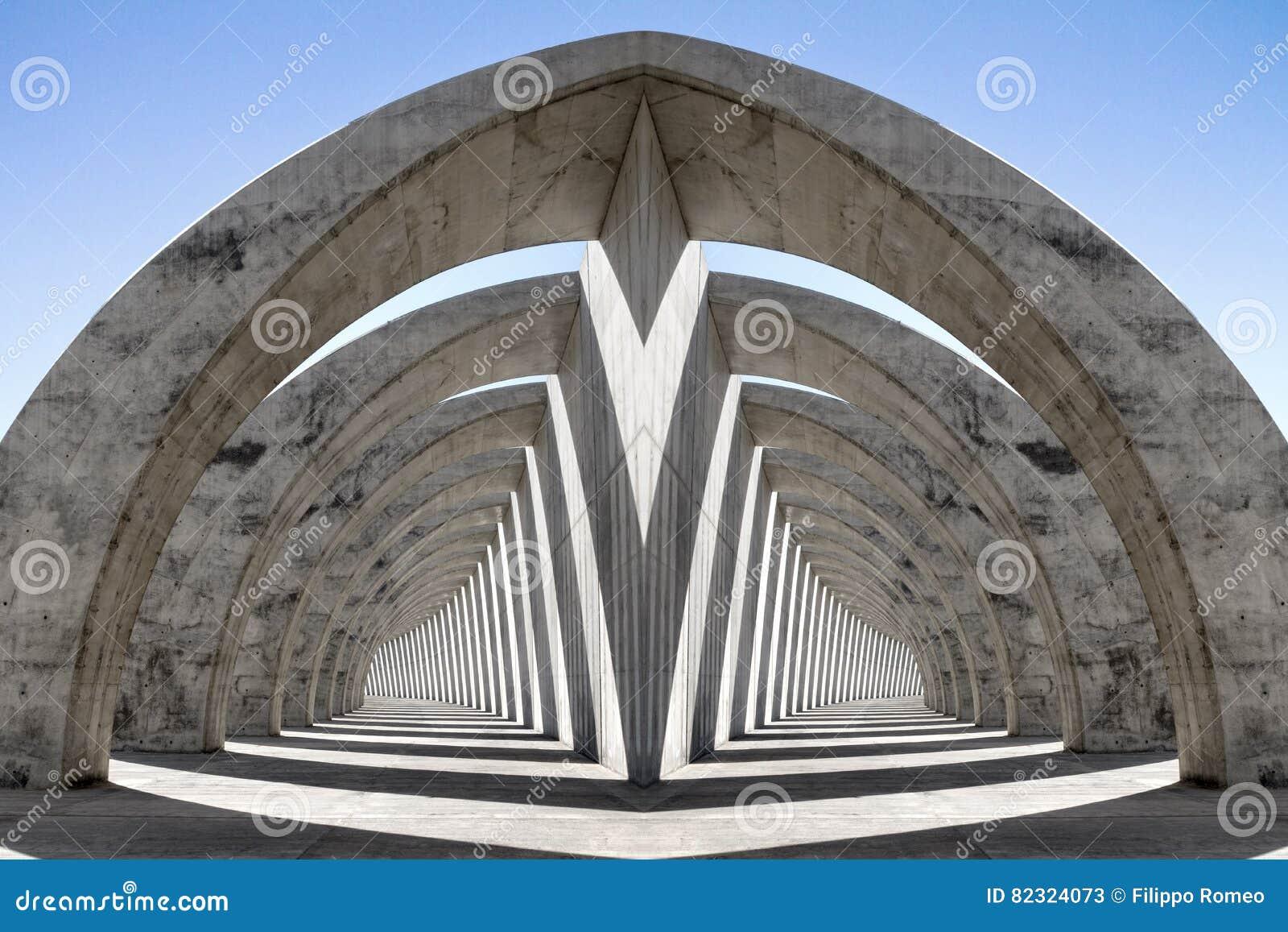 分流的双重拱廊