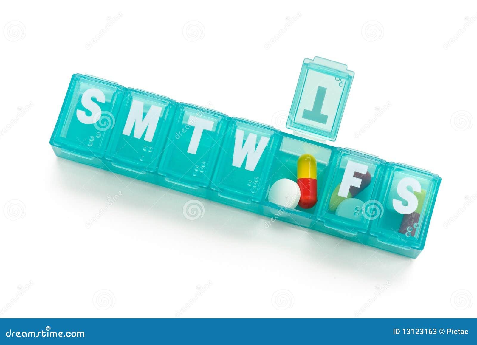 分配器药片