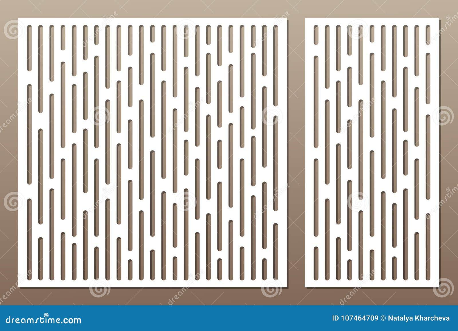 切开的集合装饰卡片 抽象线路模式 激光c