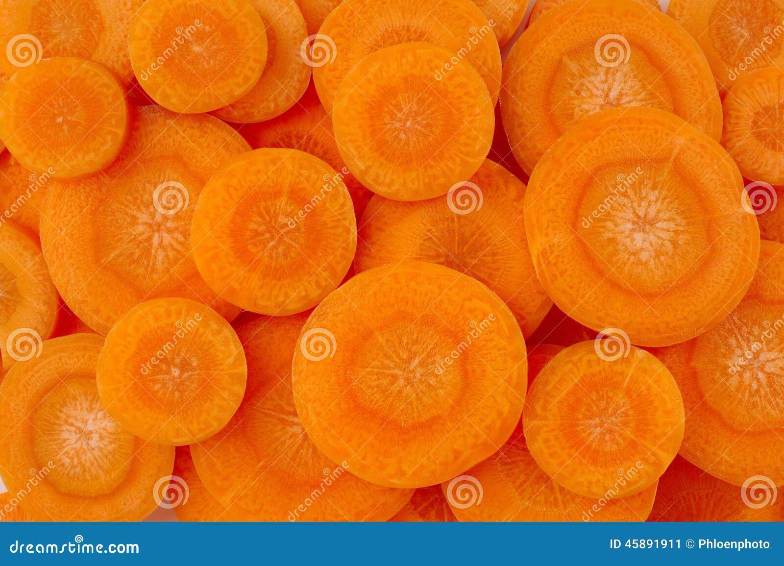 切片红萝卜背景