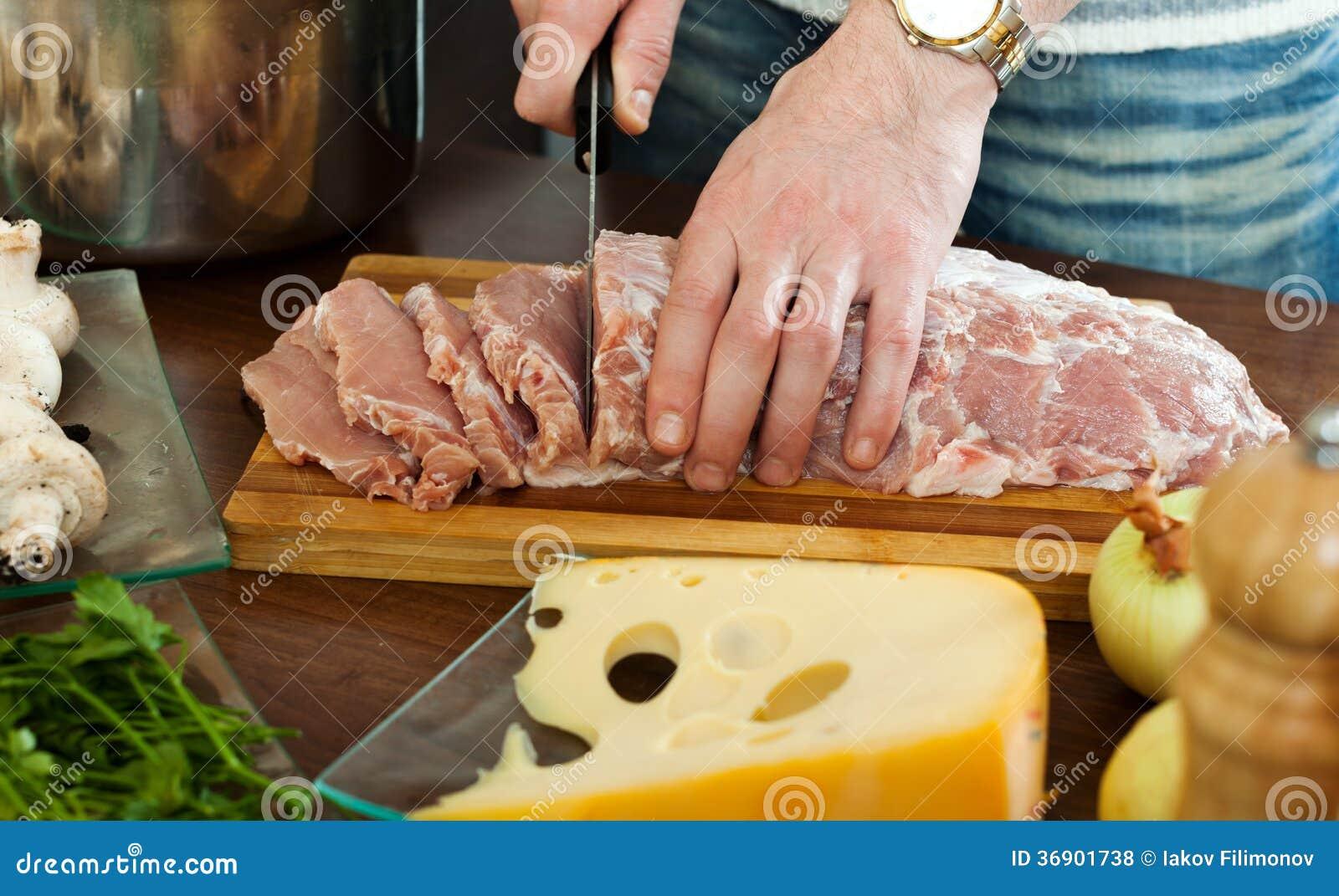 切了手的照片_切生肉的手 免版税库存照片 - 图片: 36901738