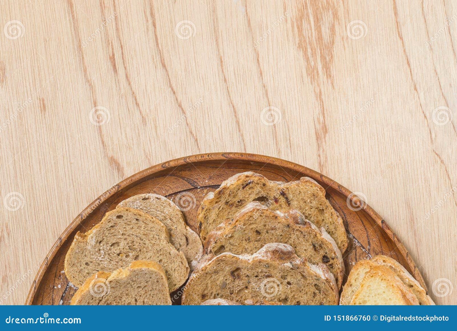 切的fread rutic面包