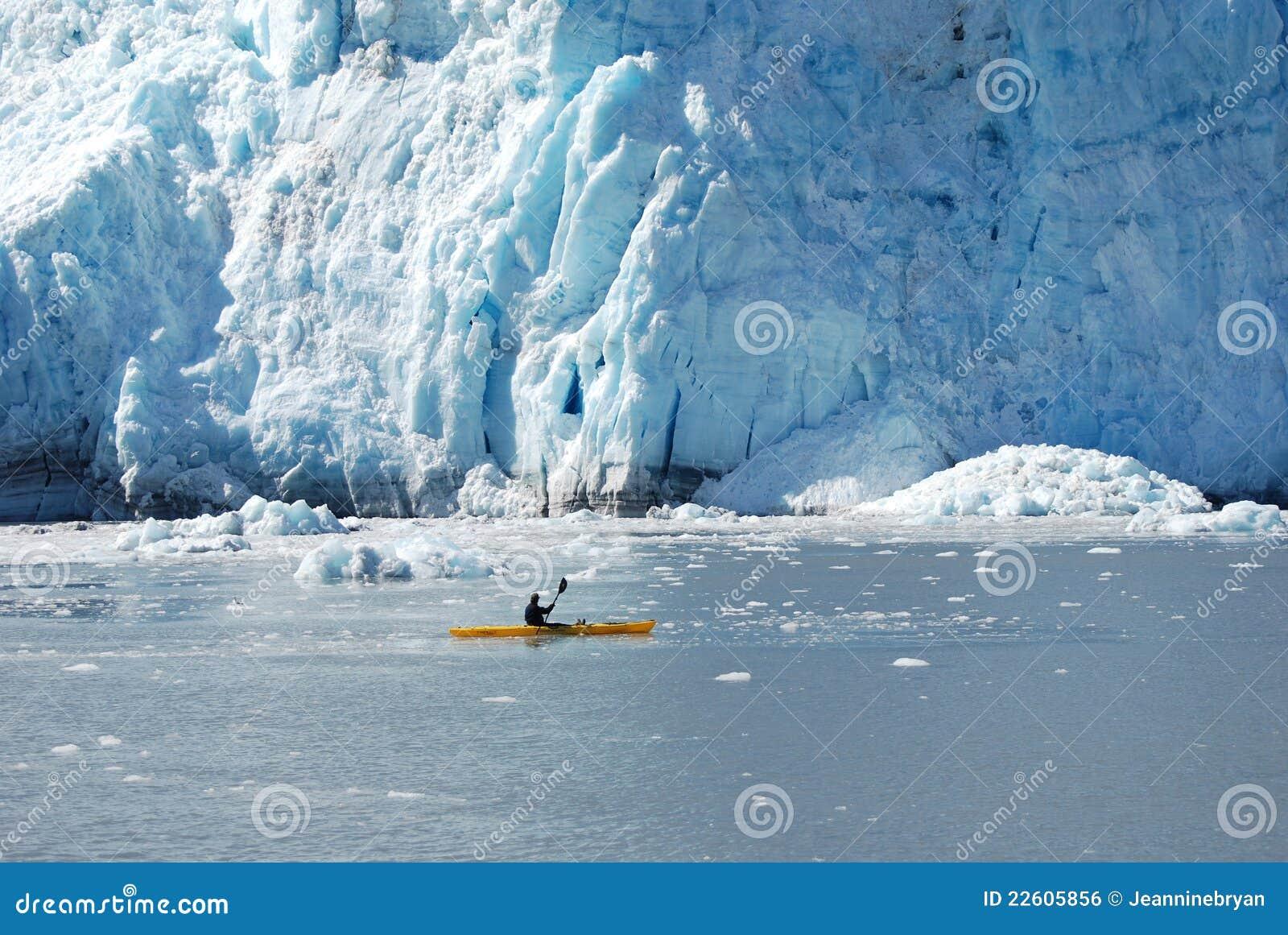 划皮船的阿拉斯加