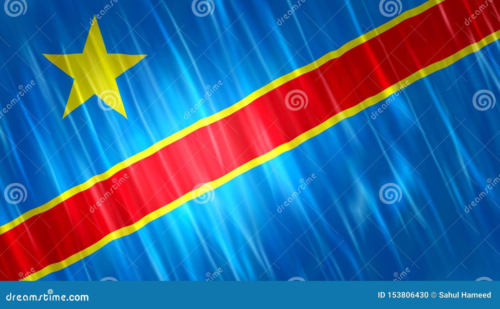 刚果民主共和国旗子