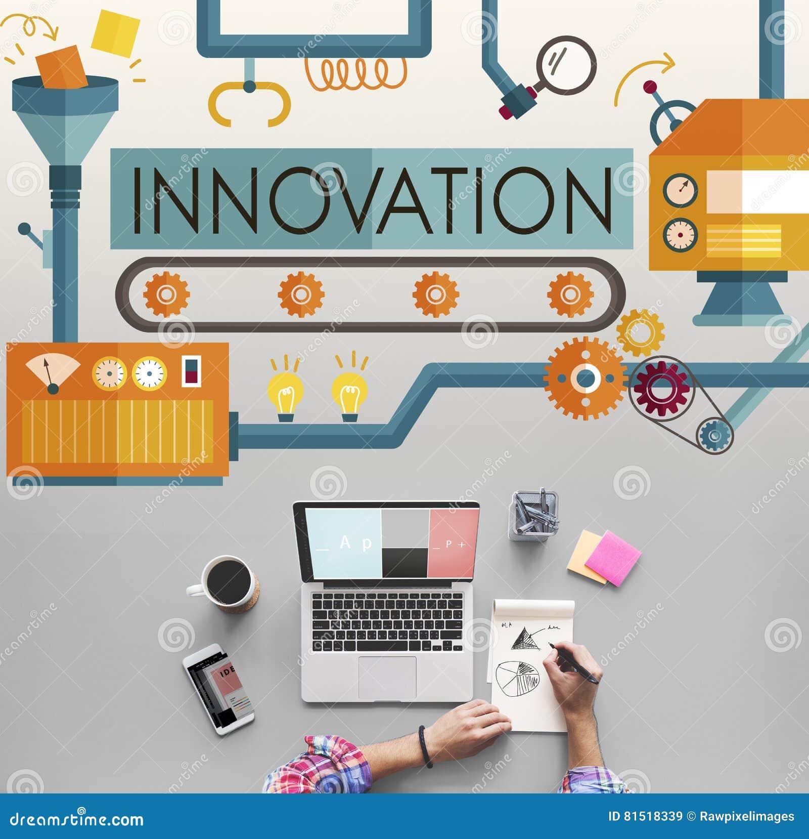 创新想法想象处理系统概念