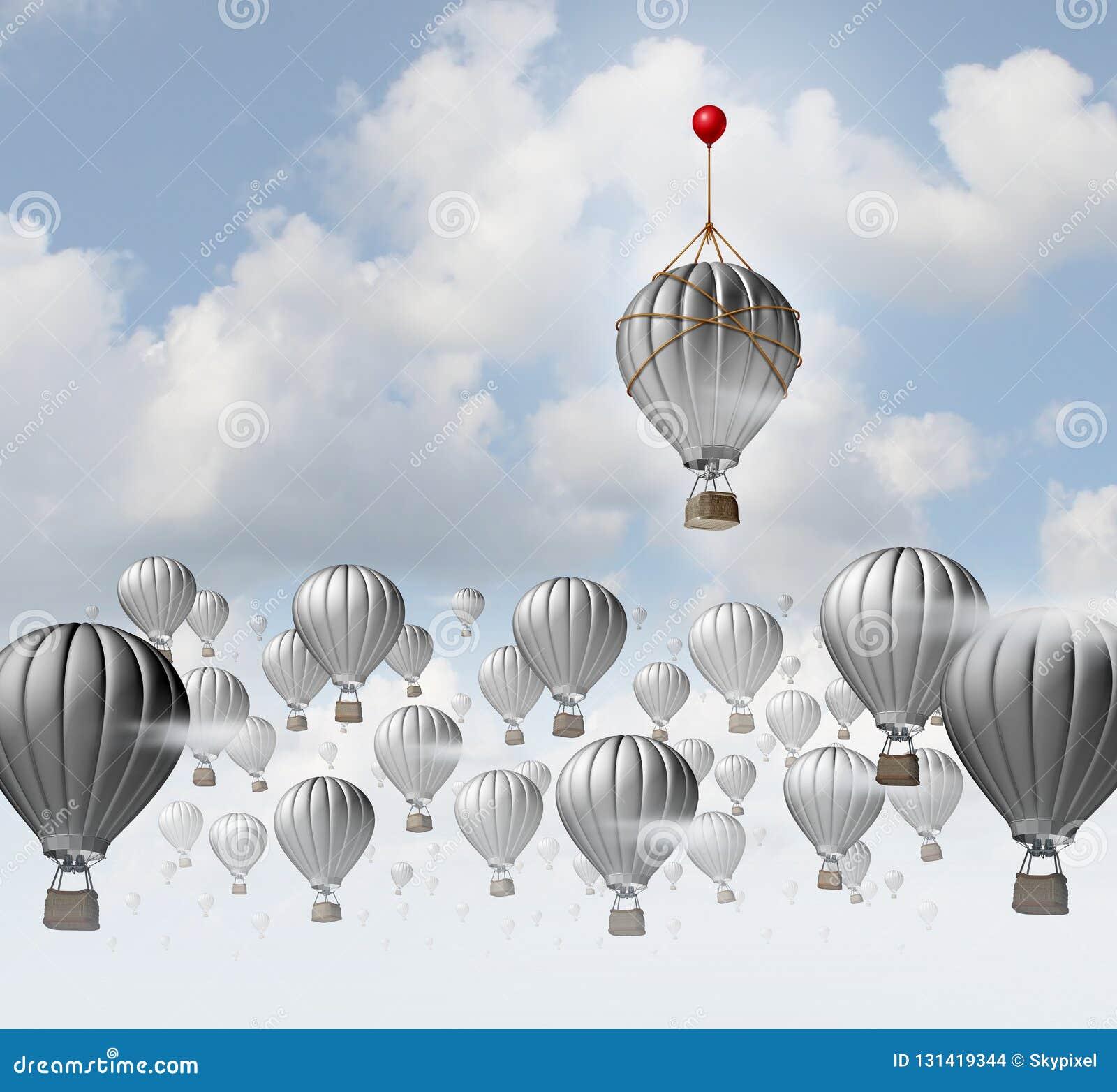 创造性创造性的想法作为认为的概念在箱子外面作为企业成功的一种独特的不同的解答作为3D