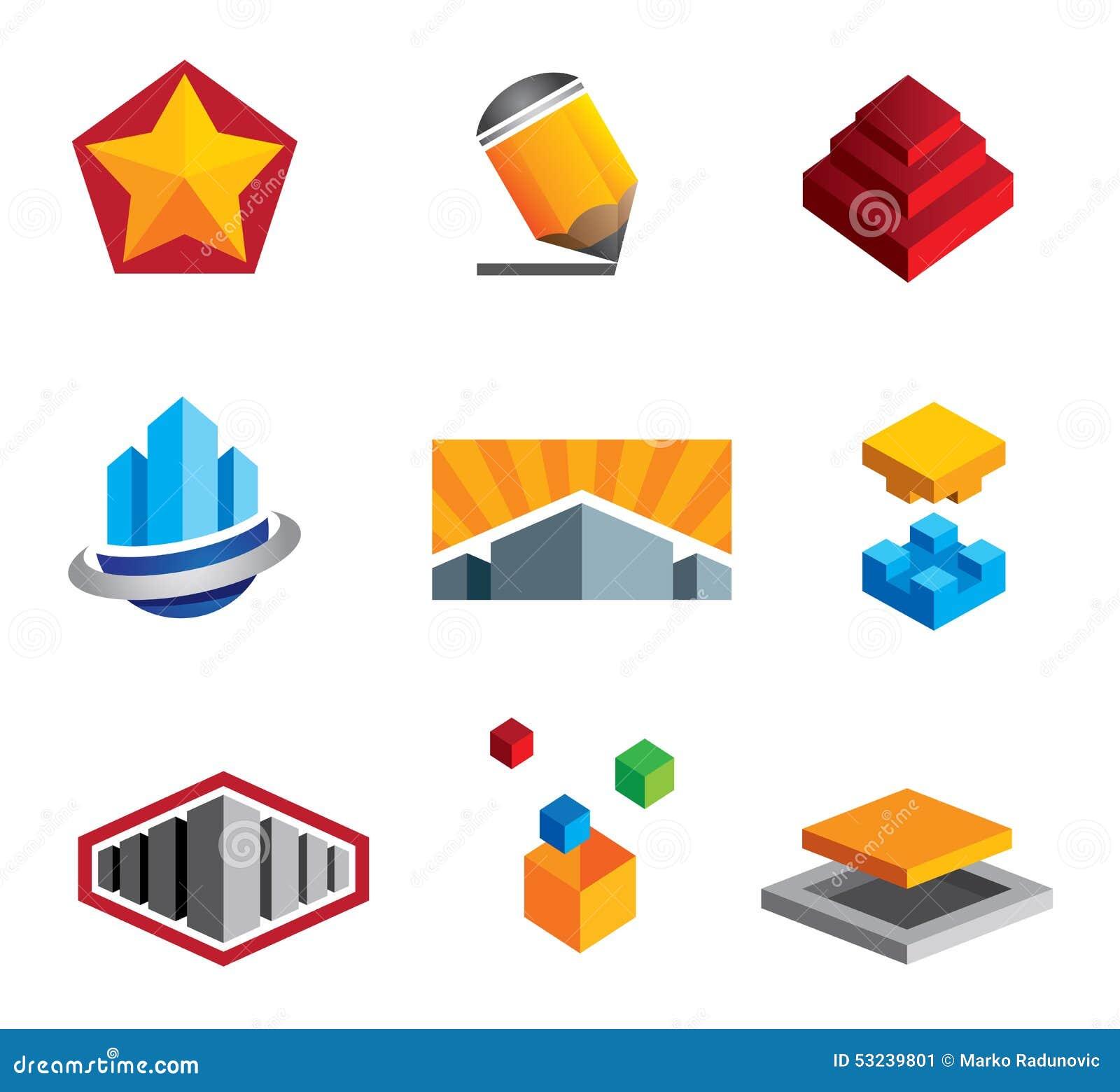 创造性的箱子困惑从小的建筑到大房地产